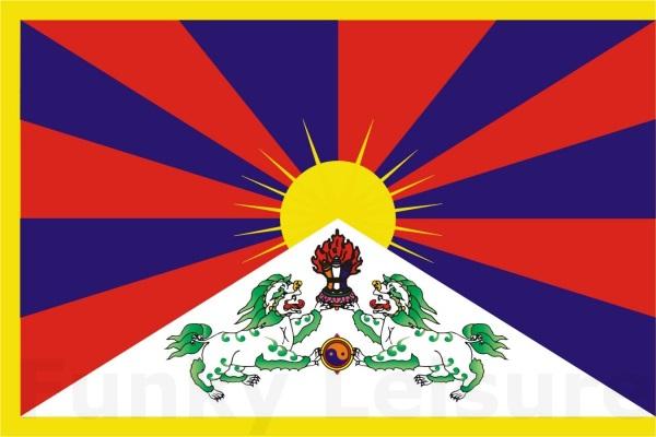 Tibetan Flag Snow Lion Flag