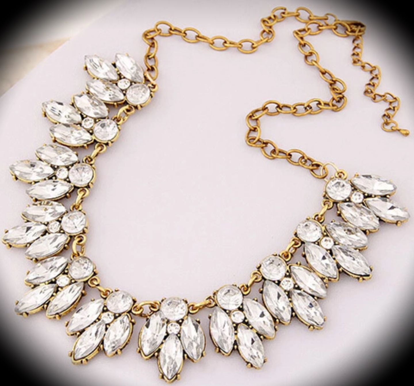white antique diamond mm pearl vintage y gold w estate necklace