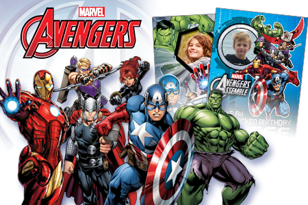 Official Marvel Birthday Amp Greeting Cards