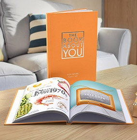 all personalised books funky