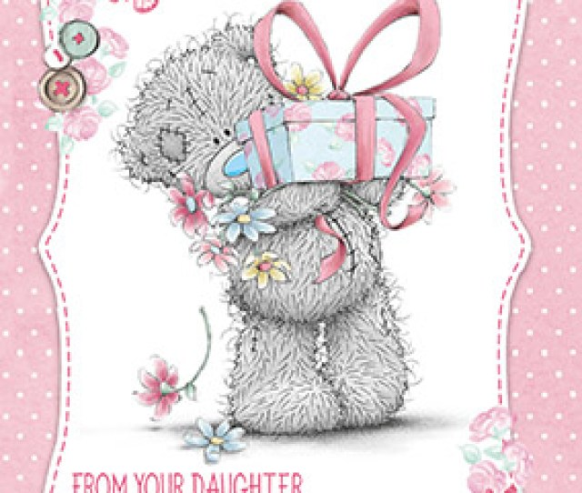 Tatty Teddy Mothers Day Card From Daughter