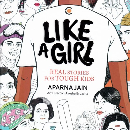 LIKE A GIRL –  REAL STORIES FOR TOUGH KIDS