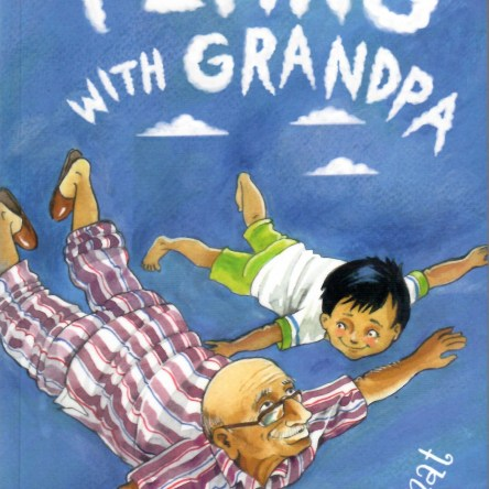 FLYING WITH GRANDPA