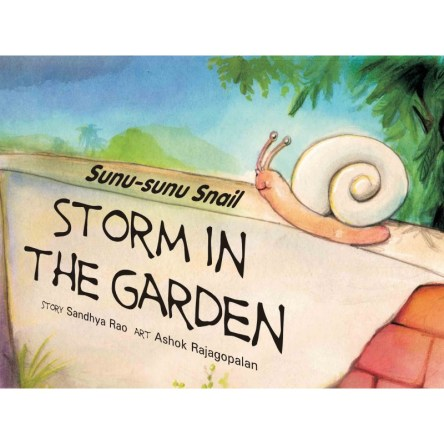 SUNU SUNU SNAIL: STORM IN THE GARDEN