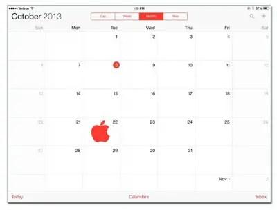 iPad 5, iPad Mini, Mac Pro and OS X Mavericks Event To