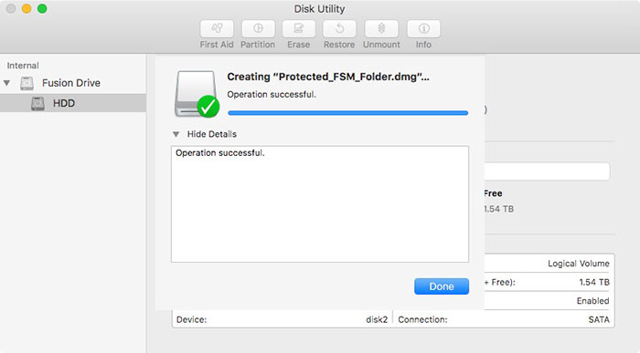 how to add password to folders mac