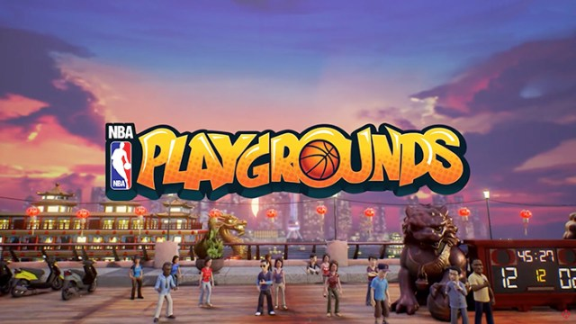 NBA Playgrounds Game Trailer [video]