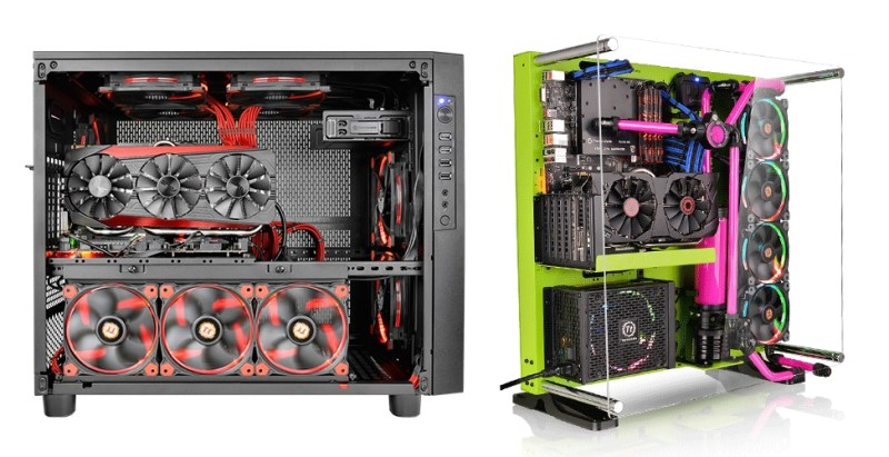 Thermaltake Core X5 and Core X5 Riing Edition Chassis