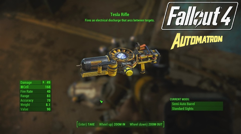 Fallout 4 Automatron New Armor Locations