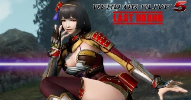 Naotora Ii in Dead or Alive 5 Last Round