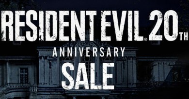 Resident Evil 20th Anniversary Sale