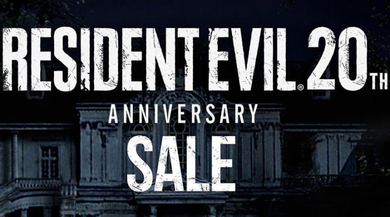 Resident Evil 20th Anniversary Sale