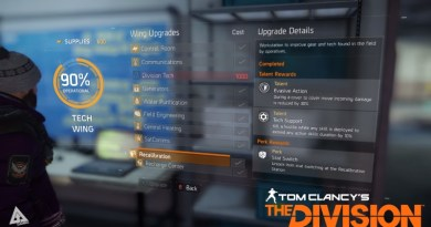 Tom Clancy's The Division Recalibration Station