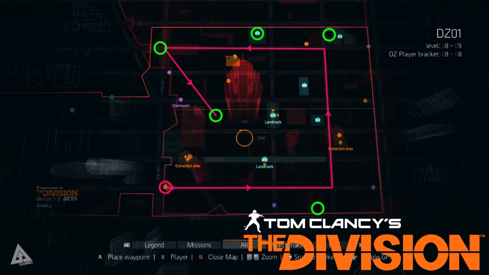 Tom Clancys The Division Dark Zone Chest Locations