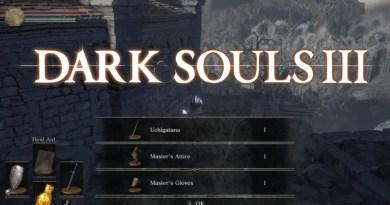 Dark Souls 3 How to Find the Uchigatana