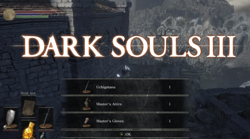 Dark Souls 3 How to Find the Uchigatana