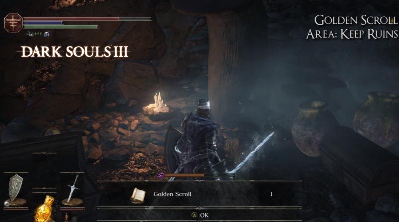 Dark Souls 3 Sorcery Scrolls Location Guide ~ FunkyVideoGames