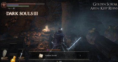 Dark Souls 3 Sorcery Scrolls Location Guide