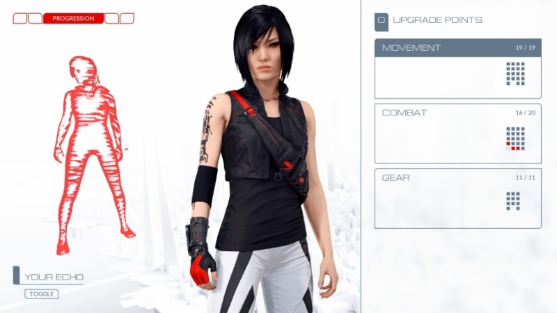 Mirror's Edge Catalyst How to Customize Runner Echo