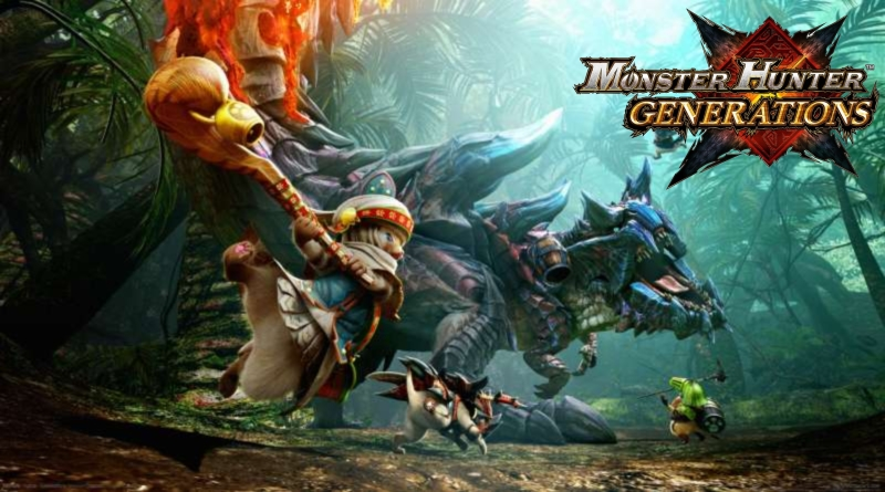 Top 10 Video Games Coming in July - Monster Hunter Generations