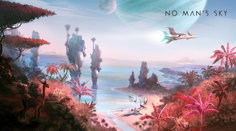 How to Find Spaceships in No Man's Sky