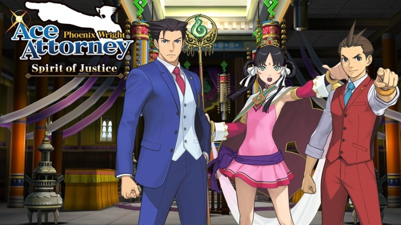 Top 10 Best Games of September 2016 - Phoenix Wright Ace Attorney Spirit of Justice