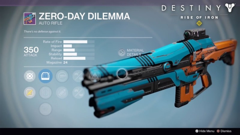 Best Vendor Weapons in Destiny Rise of Iron - Zero-Day Dilemma