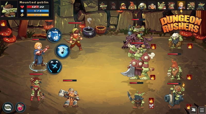 Dungeon Rushers Walkthrough