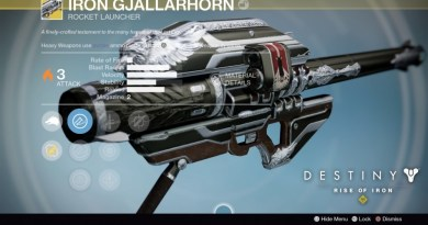 How To Get Exotic Weapons in Destiny Rise of Iron - IronGjallarhorn