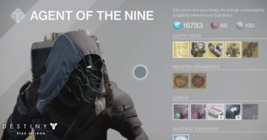 Xur Inventory and Location for 30th September - 2nd October