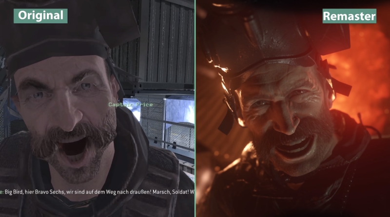 CoD Modern Warfare Original Vs Remaster Graphics Comparison