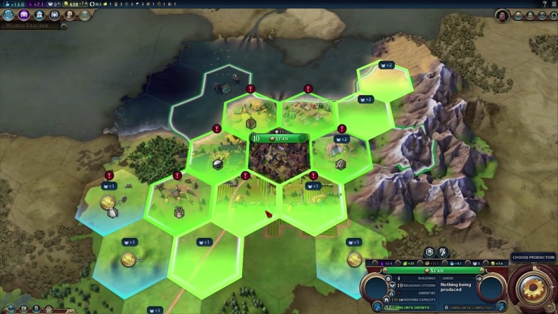 Everything You Need to Know About Civilization VI - Un-stacking Cities