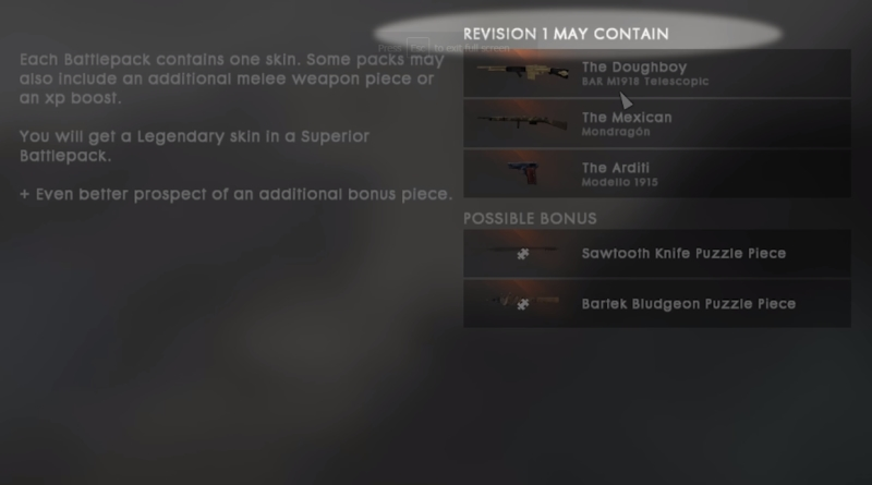 How to Get Battlepacks in Battlefield 1 Revisions