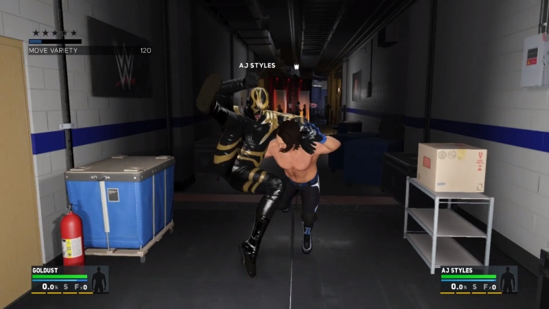 WWE 2K17 Review - Back Stage Matches