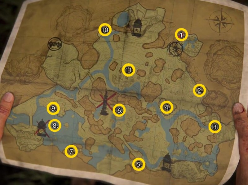 Hoysala Token Locations in Uncharted The Lost Legacy Guide