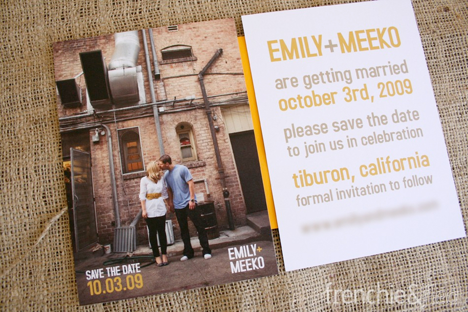 Cool Save Date Cards