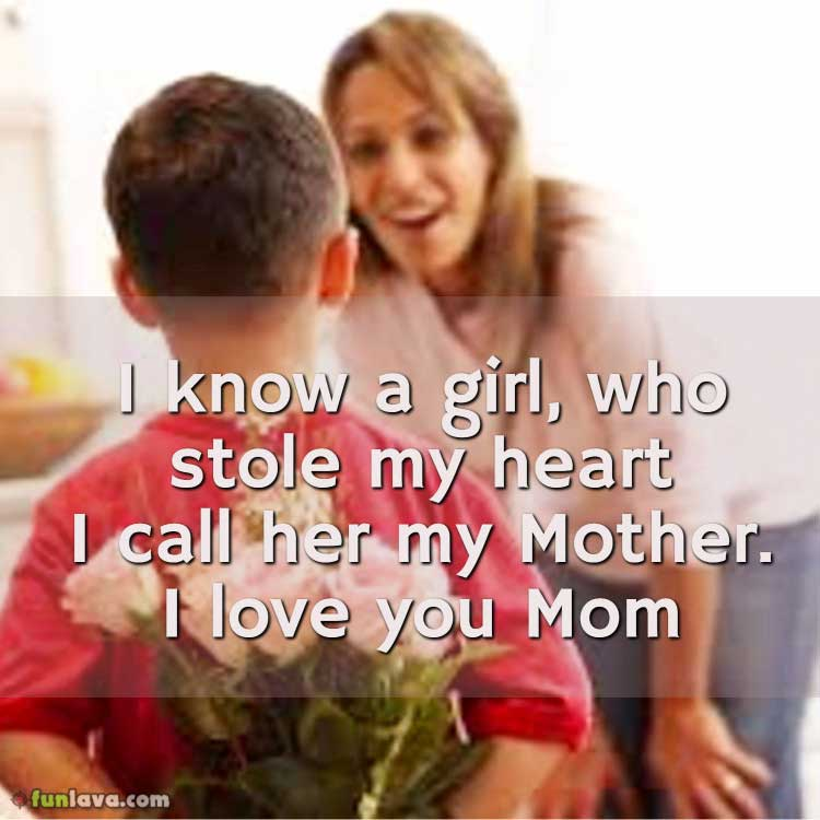 I Love My Son Quotes Mom
