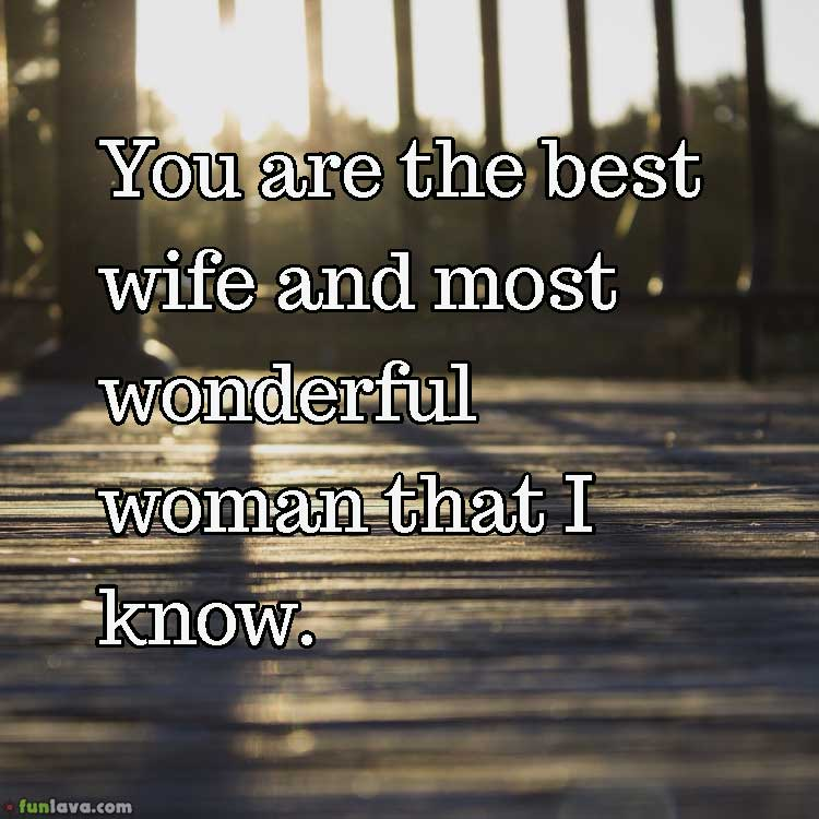 Love You Wife Quotes