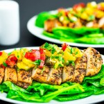 Baked Chicken Breast With Pineapple Salsa recipe funloveandcooking