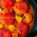 Homemade Cottage Cheese Curry - Chanar Dalna Recipe funloveandcooking.com
