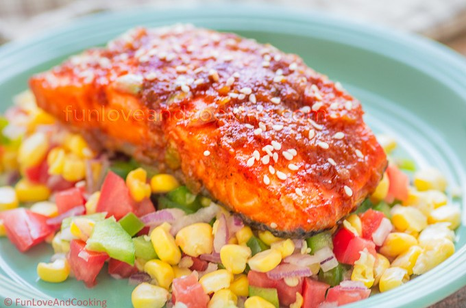 Honey Glazed Salmon –  A Perfect Date Night Recipe