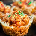 Papdi Chaat in Potato Nest recipe funloveandcooking.com