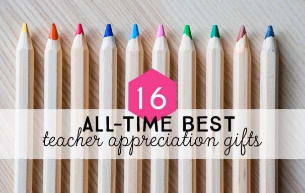 All-time DIY best teacher appreciation gifts.