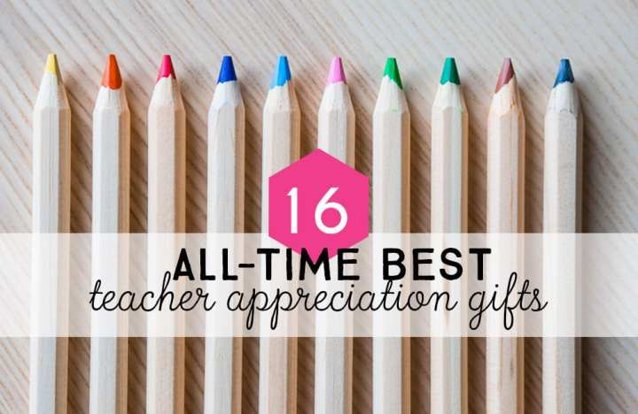 All-time DIY best teacher appreciation gifts.
