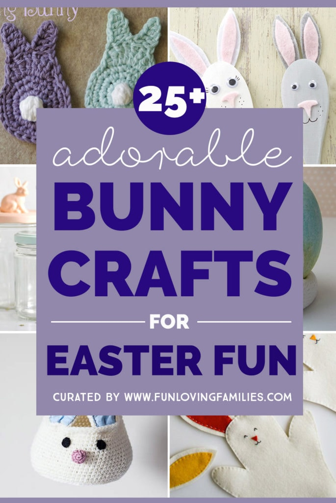 cute bunny crafts for easter
