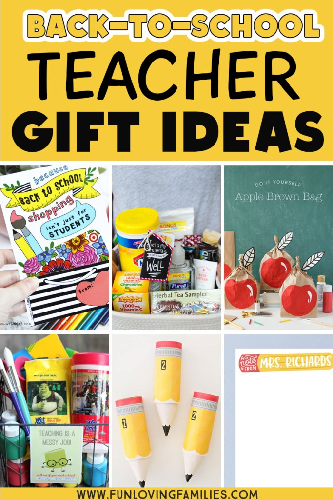 ideas for back to school teacher gifts
