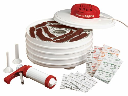 Use a jerky dehydrator kit for making homemade jerky treats for your dog.