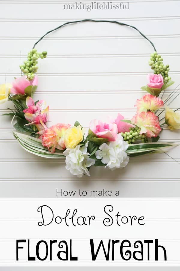 This is exactly what I've been looking for to start getting ready for Spring. Love these DIY Spring wreath ideas. (from Maiking Life Blissful)