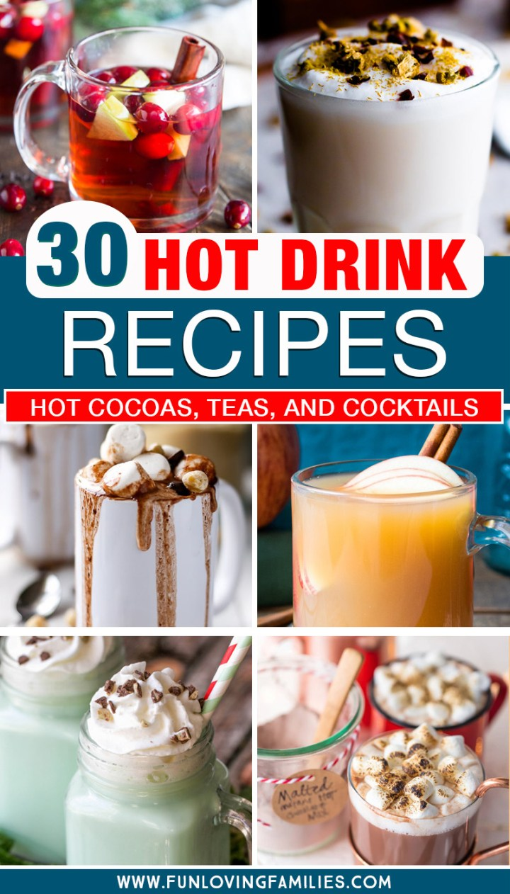 30 hot drink recipes for fall and winter