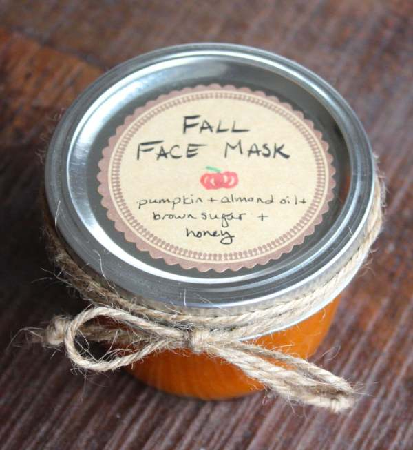 You can make your own homemade spa treatments this Fall. Start with this simple homemade 4 ingredient face mask.